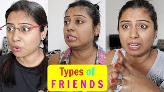 Types of Friends || Indian Vlogger Soumali #funny video 2