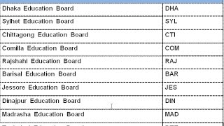 Beautiful Bangladesh - Education Board