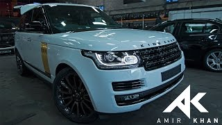AMIR KHAN | GETTING MY RANGE ROVER WRAPPED