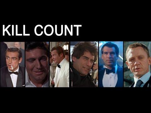 Xxx Mp4 FILM COUNTS James Bond Kill Count 3gp Sex
