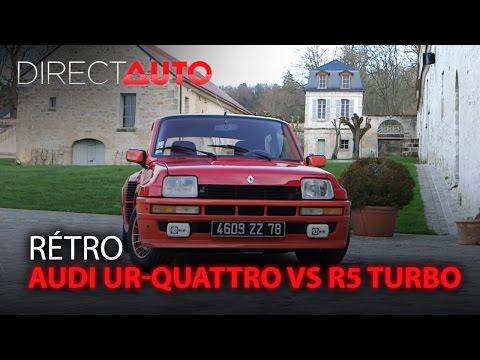 AUDI UR QUATTRO vs R5 TURBO On refait le match