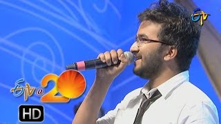 Prudhvi Chandra Performance - Crazy Feeling Song in Karimnagar ETV @ 20 Celebrations