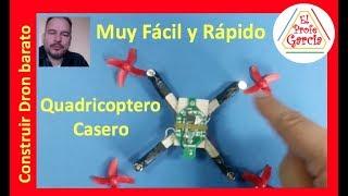 ✅ Construcción de Dron Casero explicado Paso a Paso, Barato y Fácil  MD1 - homemade drone