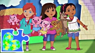 DORA AND FRIENDS INTO THE CITY PUZZLE FOR KIDS!  Dora y Amigos