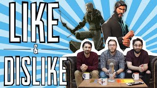 LIKE & DISLIKE: Metal Gear Survive, Assassin's Creed Origins, Fortnite, Mega Man Legacy Collection