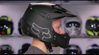 Fox Racing V1 Helmet Review at RevZilla.com