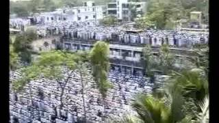 *Rare & Unique' Salatul Janaza of Shaikhul Hadith Nur uddin Gohorpuri Huzur R.A. (2005)