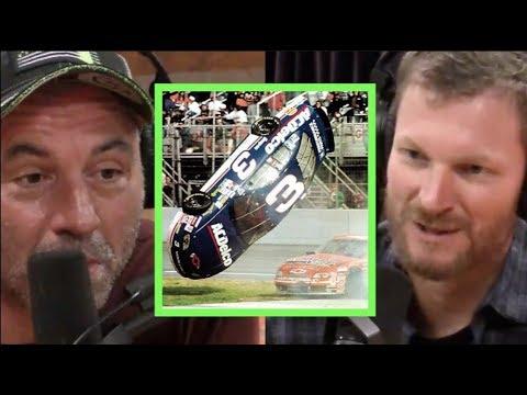 Joe Rogan Dale Earnhardt Jr. on What It s Like to Flip a Car