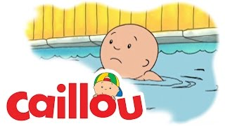 Caillou - Caillou Learns to Swim  (S01E35) | Cartoon for Kids