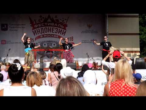 Lagi Syantik di Festival Indonesia Moskow