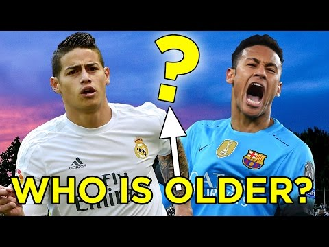 Can You Guess Which Footballer Is Older?
