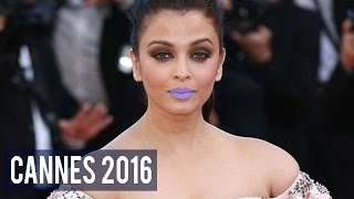 Cannes 2016 Aishwarya Rai Bachchan's purple lips created a stir on Twitter, here's how!