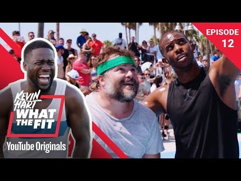 Basketball with Jack Black & Chris Paul Kevin Hart What The Fit Ep 12 Laugh Out Loud Network