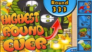 Bloons TD Battles WORLD RECORD - Round 333