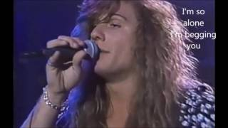 She's Gone Live Steelheart (Lyrics)