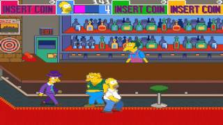 1991 The Simpsons Arcade Old School Game Playthrough Retro Game