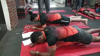 U mumba fitness camp for pro kabaddi 2018