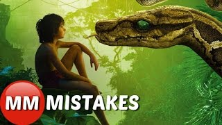 10 The Jungle Book (2016) Movie Mistakes You Missed | The Jungle Book Movie Mistakes