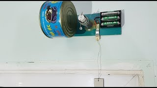 How to make a Simple Door Alarm Using 3V DC Motor