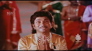 Dr Rajkumar versatile acting - Kannada Super Scenes | Kavirathna Kalidaasa Kannada Movie