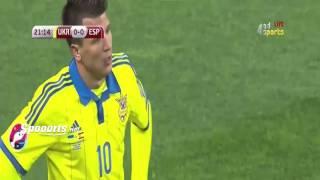 هدف مباراة أسبانيا 1 0 أوكرانيا
