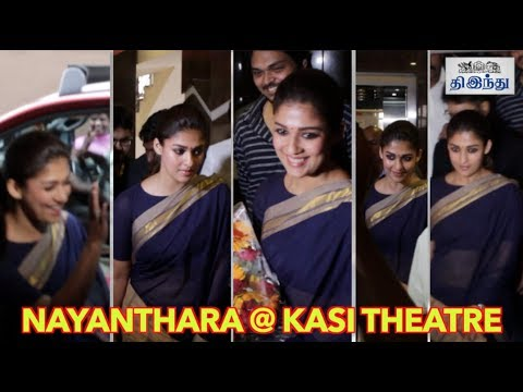 Xxx Mp4 Actress Nayanthara Visit Kasi Theatre For Aramm Promotions Tamil The Hindu 3gp Sex