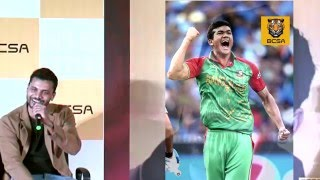 Taskin got biggest compliment from Mashrafe