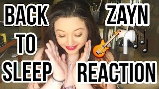 BACK TO SLEEP (REACTION) - ZAYN, USHER & CHRIS BROWN OFFICIAL AUDIO