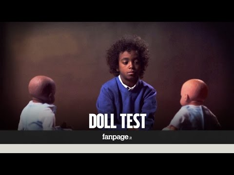 Doll test The effects of racism on children ENG