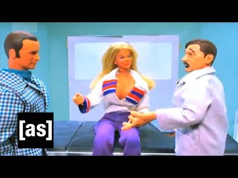 Bionic Woman Robot Chicken Adult Swim