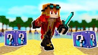 Minecraft : NOVA LUCKY BLOCK DE ÁGUA - SW Lucky ‹ MayconLorenz ›
