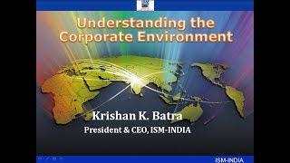 Understanding the Corporate Environment