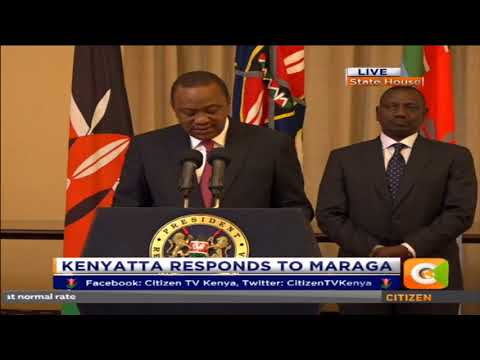 Kenyatta: We will do all we can, under the law, to enable IEBC conduct fresh presidential poll