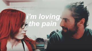 seth and sasha | I'm loving the pain