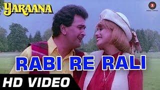 Rabi Re Rali | Yaraana [1995] | Rishi Kapoor, Madhuri Dixit | Romantic Songs