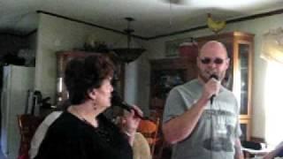Travis Tritt Helping Me Get Over You Karaoke Song Preformed by Michael Sagers & Belinda Lewis