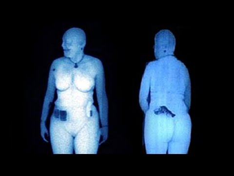 LEAKED Body Scan Images From The TSA!