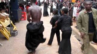 ashanti funeral. Kumasi, Ghana