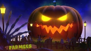 Scary Pumpkin | Spooky Halloween Videos For Babies | Nursery Rhymes For Kids by Farmees