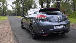 Renault Megane R.S. 275 0-100km/h & engine sound