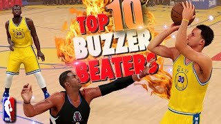 NBA 2K16 TOP 10 BUZZER BEATERS & Game Winning Shots #5