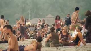 Beautiful Hippie Beach in Goa of India - 2014