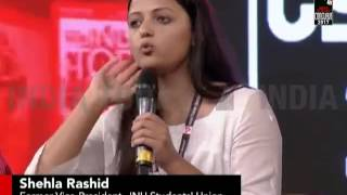 Women's Safety Is In Their freedom, Says Shehla Rashid | India Today Conclave 2017