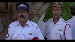 Santhanam Comedy Scene With Traffic Police - Kandean Latest Tamil Movie Scene