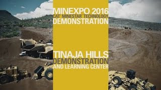 Cat® Mining Technology Product Demo - MINExpo 2016