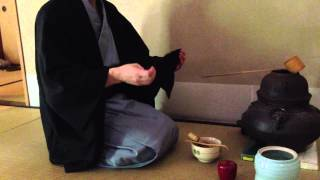 裏千家/手前/薄茶手前/風炉/稽古用(20130608)