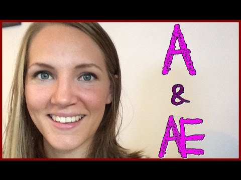 Norwegian Sounds and Letters: A and Æ