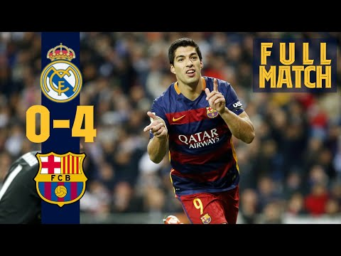 FULL MATCH Real Madrid Barça 2015 Thriller in El Clásico
