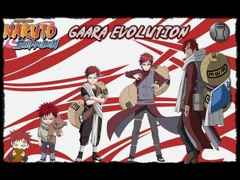 Naruto Characters Evolution