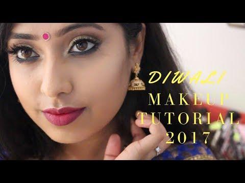 Xxx Mp4 DIWALI MAKEUP TUTORIAL 2017 L TAMIL SRI LANKAN INDIAN 3gp Sex